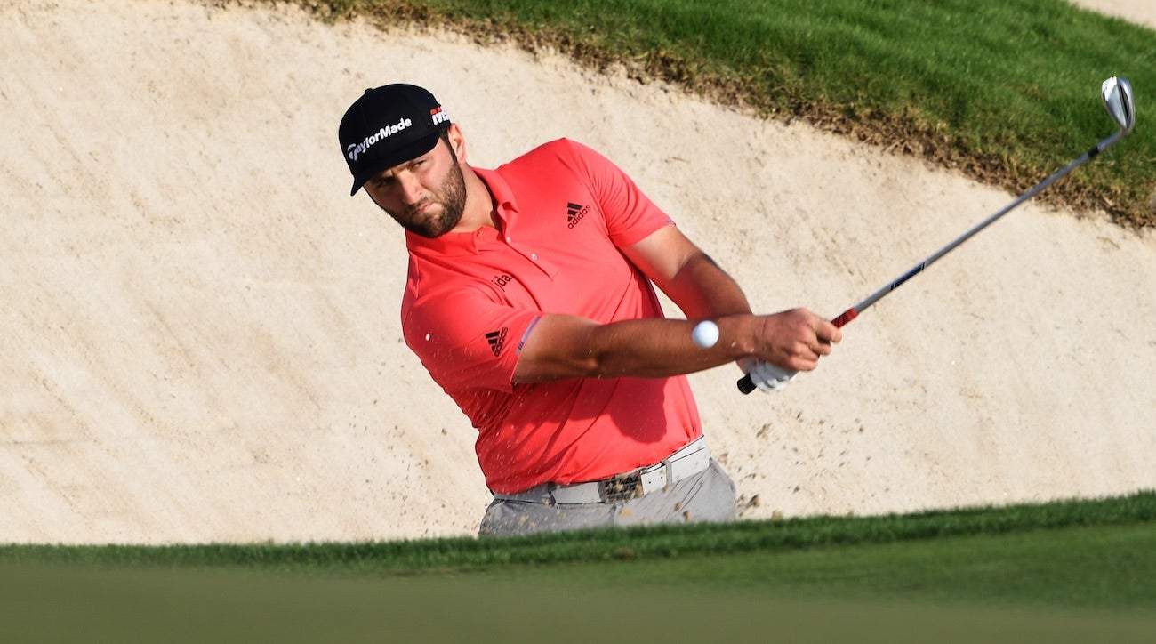 Rahm's wedges (including one with Woods' initials) played a role in his Dubai victory.