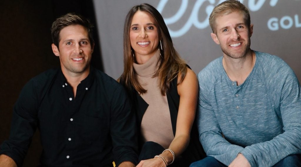 Robin Golf co-founders Andrew, Ali and Peter Marler.