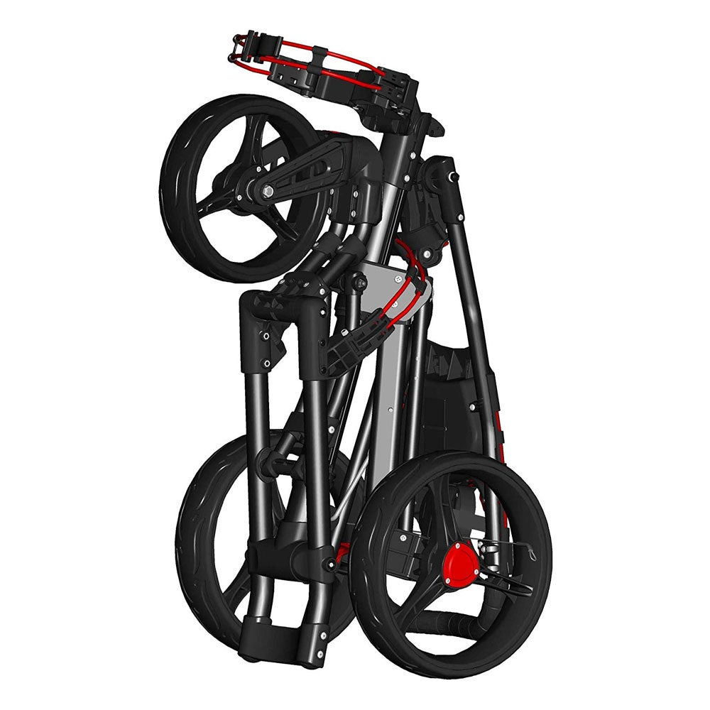 Spin It Golf Easy Drive Push Cart