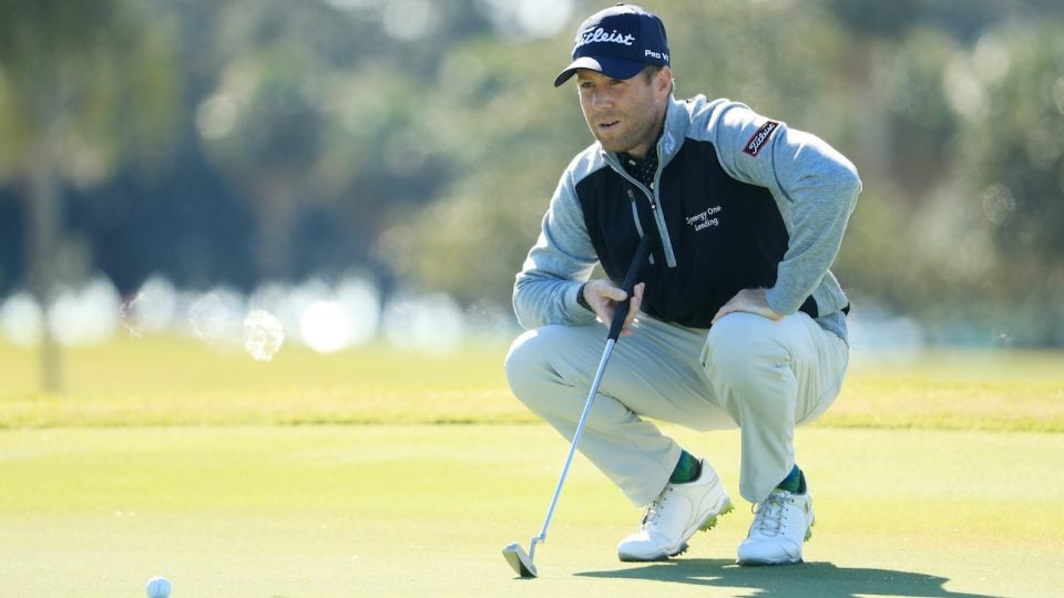 Tyler Duncan's first win came with 14 Titleist clubs in the bag.