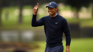 Tiger Woods smile