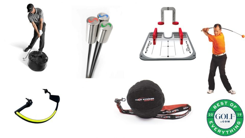 Here are our picks for some of the best golf training aids.