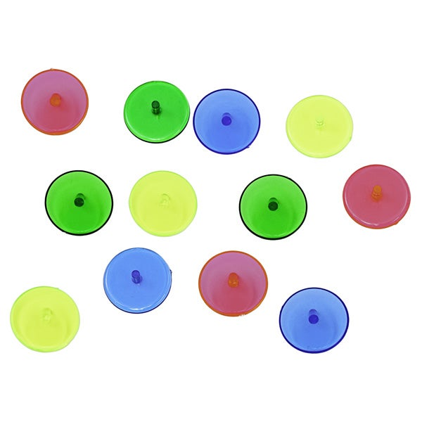 Athletic Works Neon golf ball markers