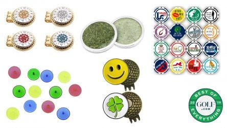 Check out our picks for the best golf-ball markers below