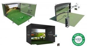 Check out our picks for the best golf simulators below.