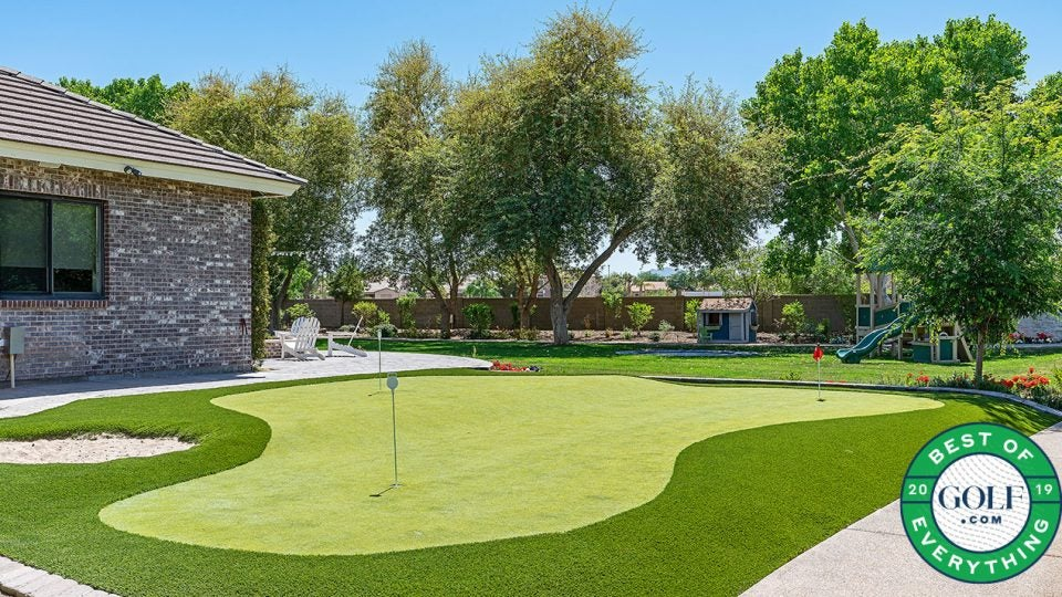 best home putting greens