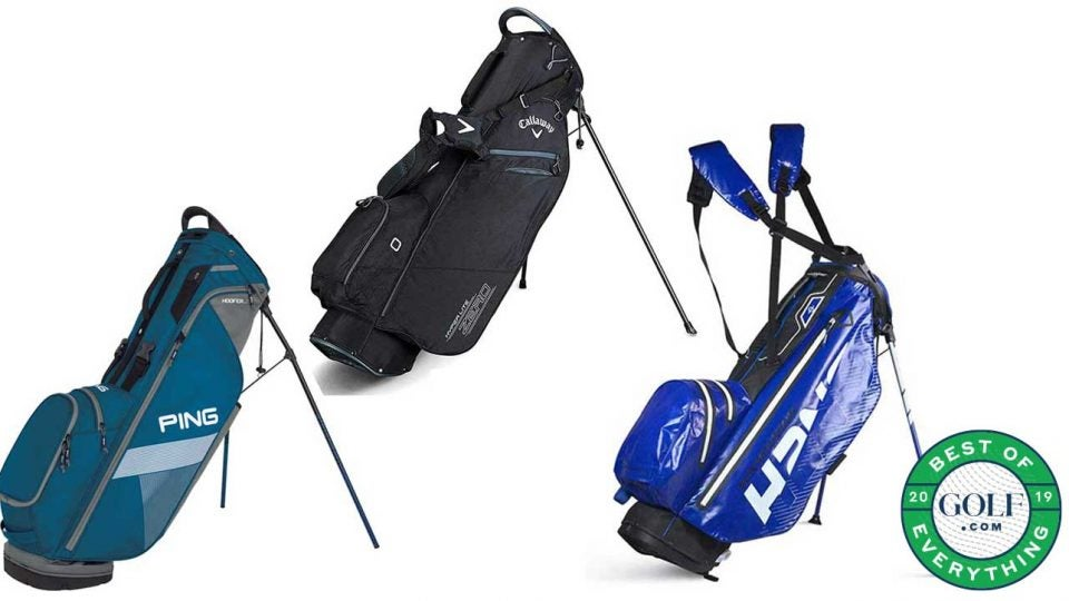 The best lightweight golf bags.