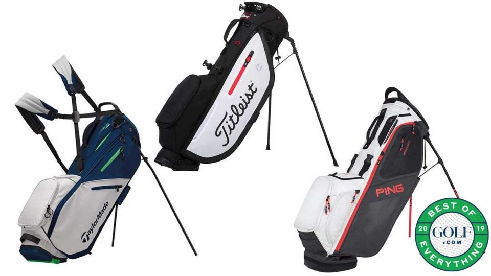 These are the best stand golf bags for golfers.