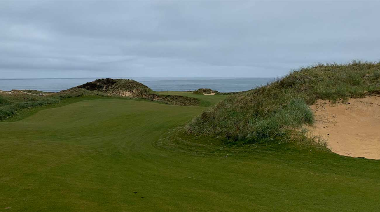 Cape Wickham has a glorious mix of spectacular inland and seaside golf holes.