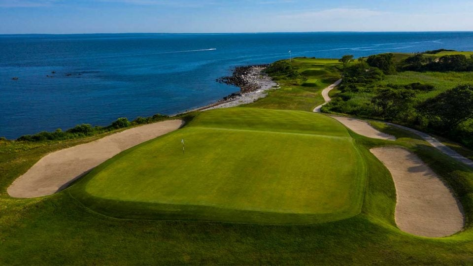 A view of Fishers Island in New York. The Empire State has 11 courses on GOLF's Top 100 Courses in the World ranking.