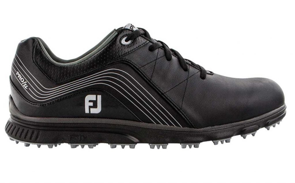FootJoy Men's 2019 Pro/SL golf shoes.