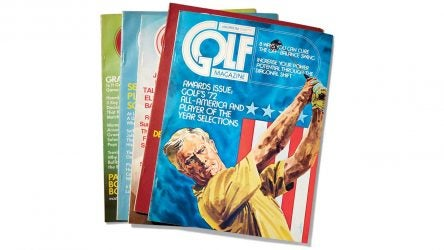 GOLF Magazine in the '70s.