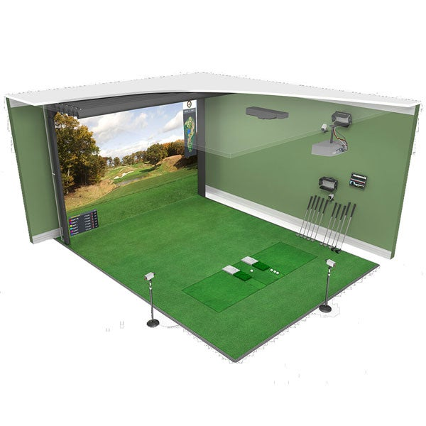 High Definition Golf Model 4:3 Flatscreen golf simulator