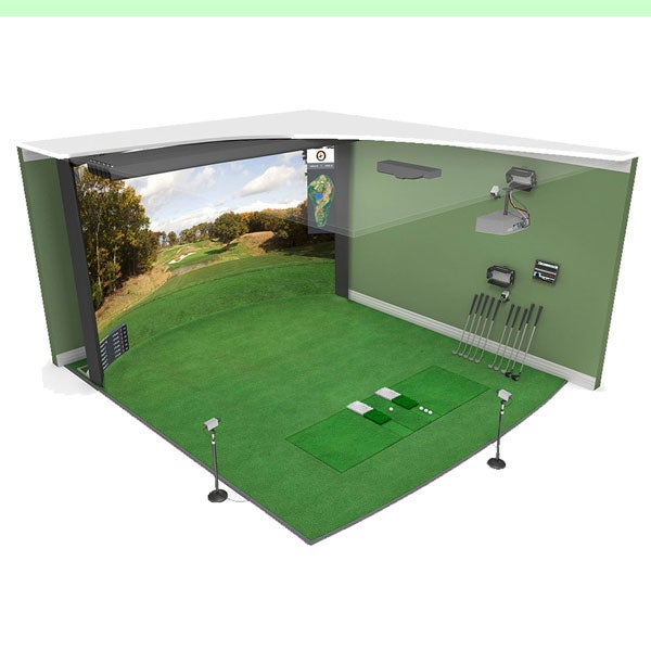 High Definition Golf Grand Champ golf simulator