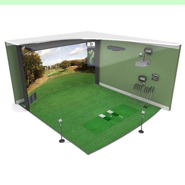 High Definition Golf Grand Champ golf simulator