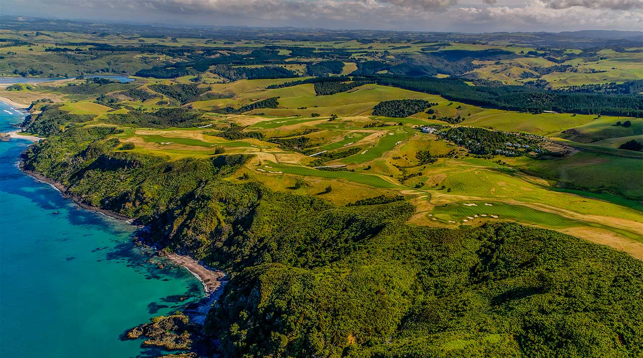 Kauri Cliffs, complete with views of Cape Brett and the Cavelli Islands, was the first stop of an epic adventure.