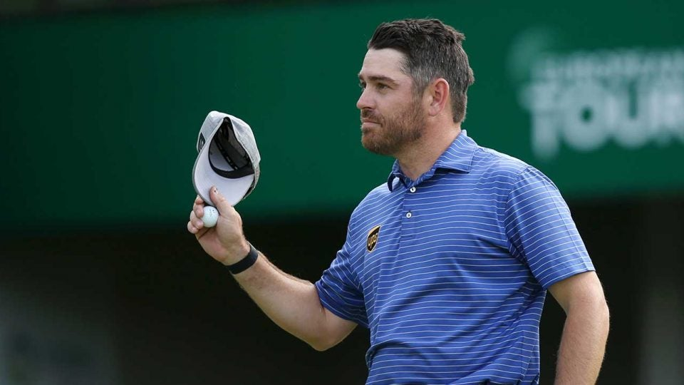 Louis Oosthuizen shot 63 on Thursday and leads in Sun City.