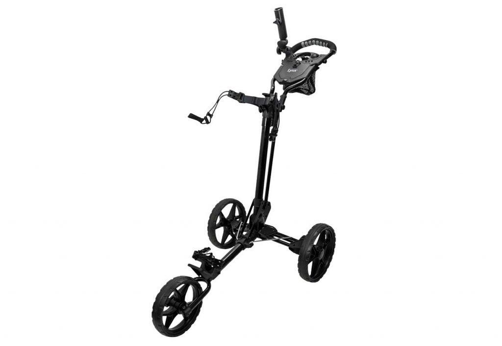 Lynx 3-Wheel Foldable Golf Push Cart.