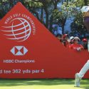 Matthew Fitzpatrick watches a tee shot during the second round of the WGC-HSBC Champions on Friday.