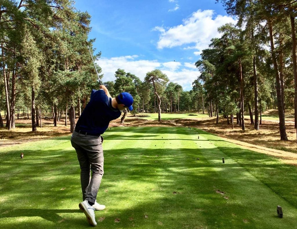 Morfontaine combines a little Pine Valley with Pinehurst in the French countryside.