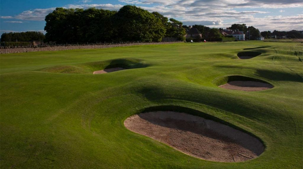 <p/><span>Gullane, Scotland</span> <span>Old Tom Morris, 1891/H.S. Colt, 1925</span>  <p>This 16-time Open venue was never more testing or memorable than in 2013, when Phil Mickelson rode his 3-wood to victory. The course so impressed Jack Nicklaus in his 1966 win that he named his own major-worthy course in Ohio after it. Tom Weiskopf cites the primary appeal: