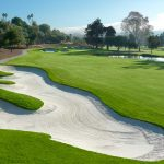 A view of the 13th hole at the Champions Course at Omni La Costa Resort & Spa.