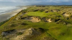 The 11th hole at Pacific Dunes.