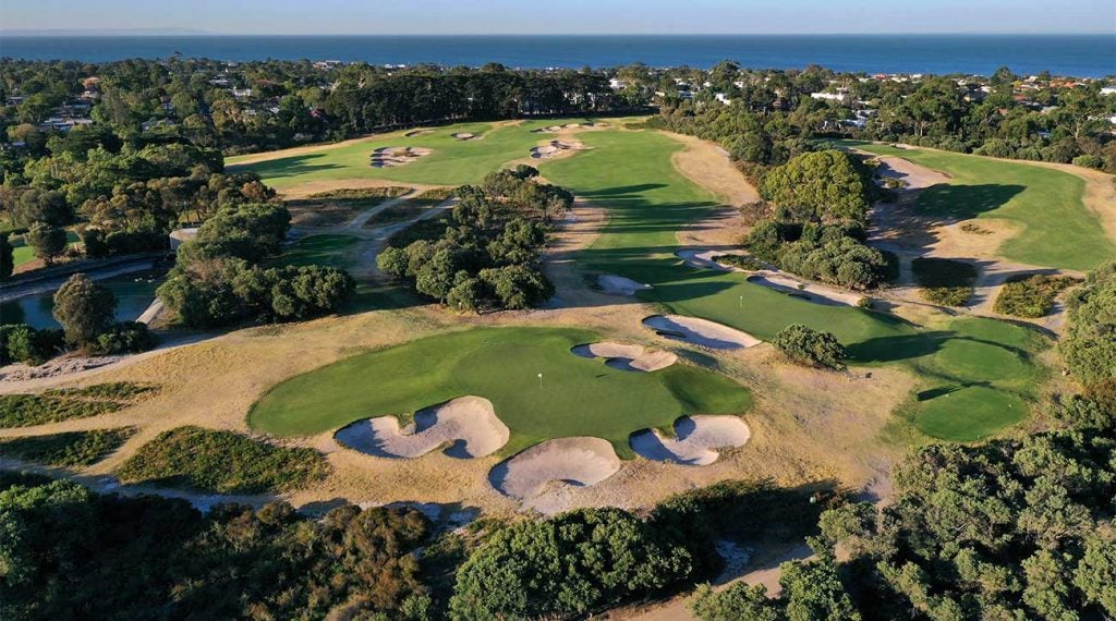 Royal Melbourne is one of many of Australia's glittering golf offerings.