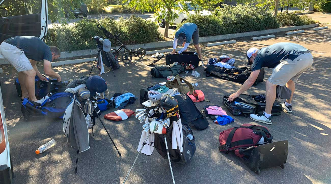 The most difficult part or an epic golf trip? The packing, and unpacking, and repacking.