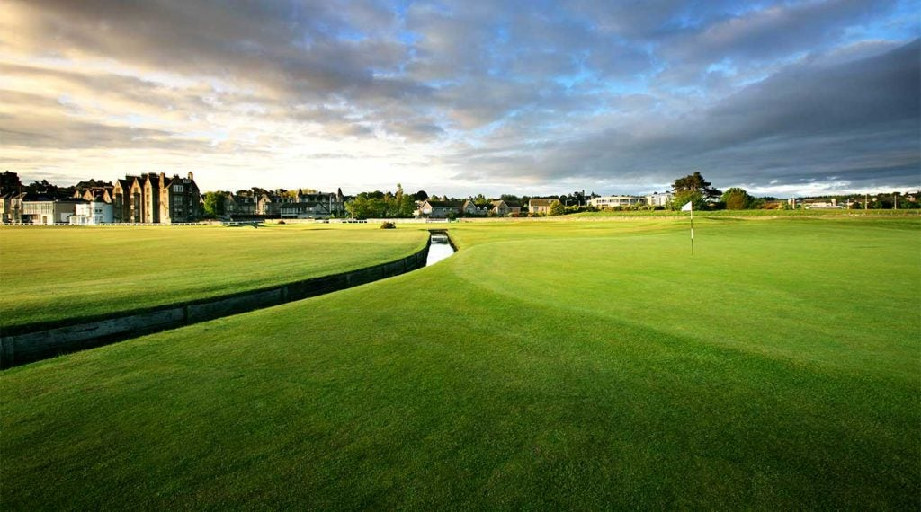 St. Andrews (Old Course) <p/><span>St. Andrews, Scotland</span> <spam>Nature, 1400s/Old Tom Morris  <p>The birthplace of golf features blind bunkers, huge double greens, quirks such as the Road Hole and Hell Bunker and strategic options that vary with the day's wind. The emphasis on variety and strategy became the foundation for strategic designs that followed, including Augusta National. The Old Course might well possess the fastest, best turf in all of golf (despite, or perhaps because of, its constant use) and no design possesses the flexibility in allowing a 10-year-old, 30-year-old, 50-year-old and 70-year-old to enjoy themselves as a group. Modern architects, take note! (No change)</p>