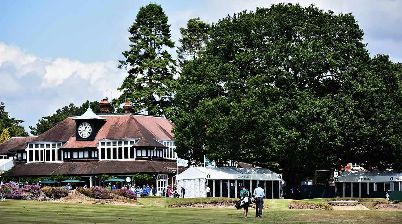 A look at the Old Course at Sunningdale Golf Club in England.