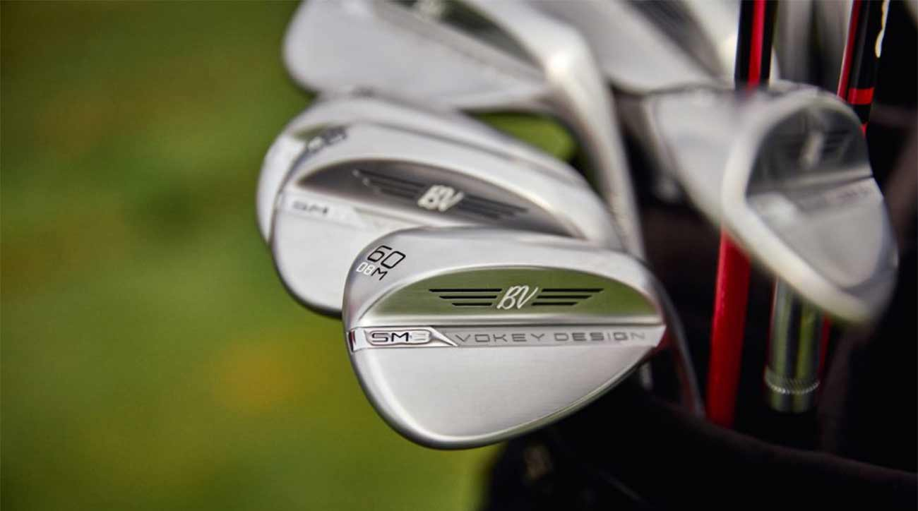 Here's your first look at Titleist's Vokey Design SM8 wedge.
