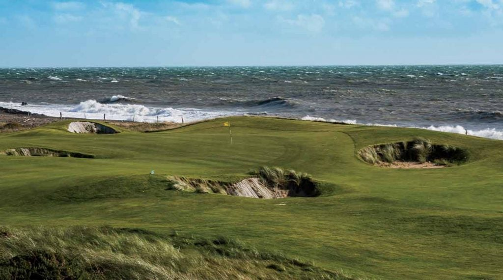 The European Club's Pat Ruddy is famously precocious, and so is his seaside course, which features 20 holes, including 12a.