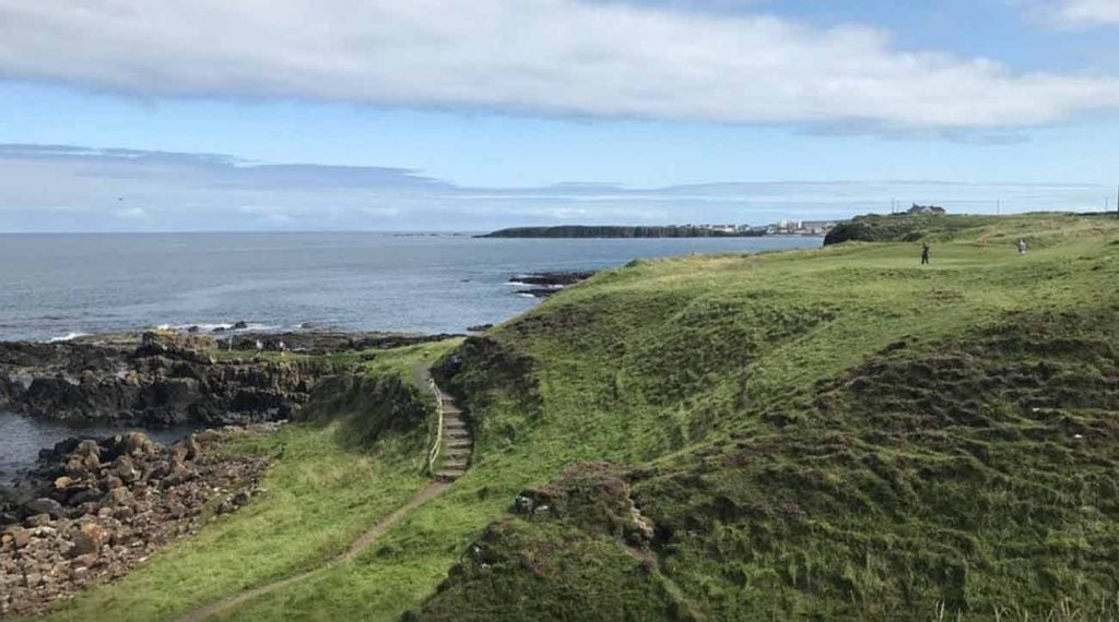 Ballyreagh was a breath of fresh air for a group of staffers in Portrush, Northern Ireland.