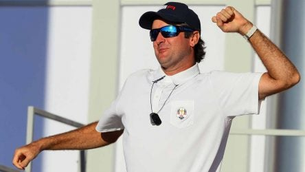 Bubba Watson says being a vice captain at the 2016 Ryder Cup was the thrill of a lifetime.