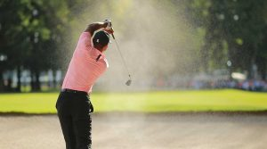 Tiger Woods' shot from a bunker at the WGC-Mexico Championship is difficult to top.