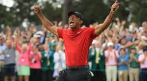 Tiger Woods' win at the Masters ranks 6th among the best finishes of 2019.