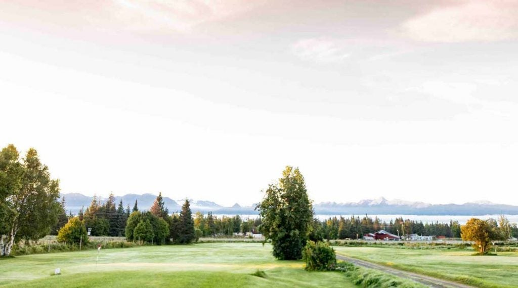 Want to play a late-evening round? Alaska is the place to do it.