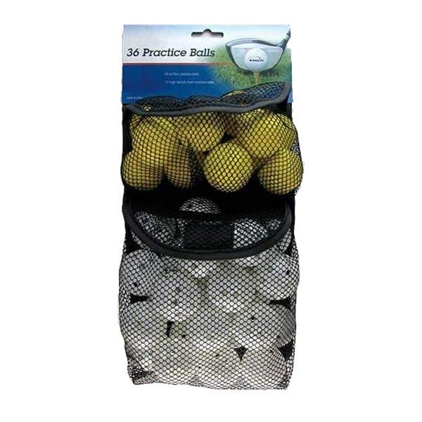 Intech Foam and Plastic Practice Golf Balls.