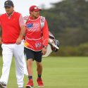 """Patrick Reed's caddie Kessler Karain was involved in an """"altercation"""" on Saturday at the Presidents Cup."""