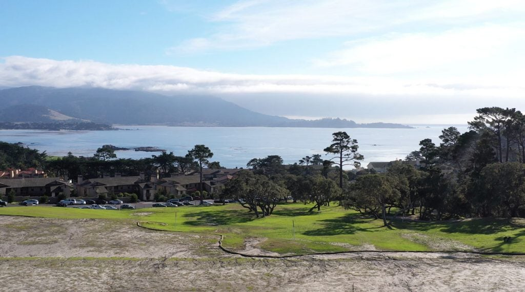 The redesigned Peter Hay par-3 course at Pebble Beach will include a hole played to the same yardage and elevation change as the big course's famous 7th.