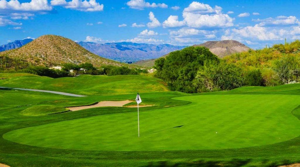 Starr Pass Golf Club at the JW Marriott Tucson Starr Pass Resort & Spa.