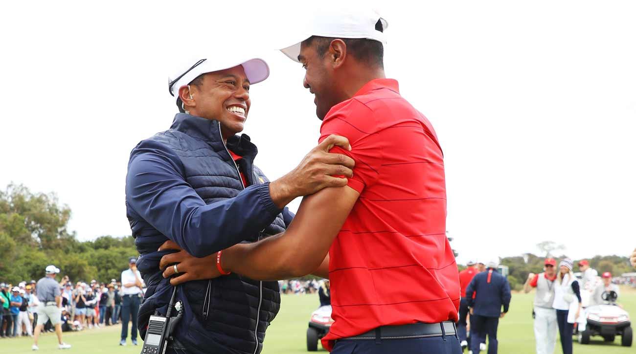 Tiger Woods Tony Finau