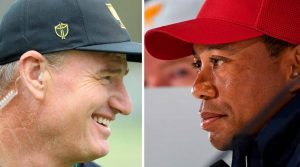 Ernie Els and Tiger Woods have put together their Day 1 matchups.