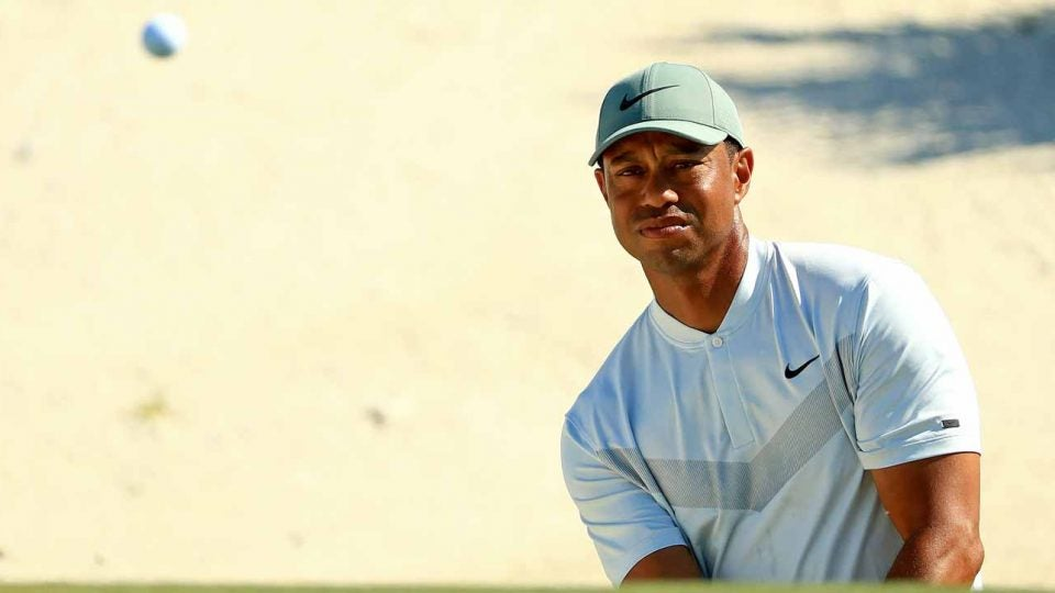 Tiger Woods sits T5 at the halfway point of the Hero World Challenge.