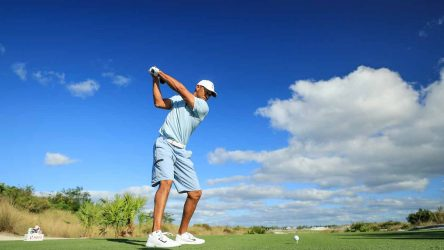 Tiger Woods gears up for this week's Hero World Challenge.