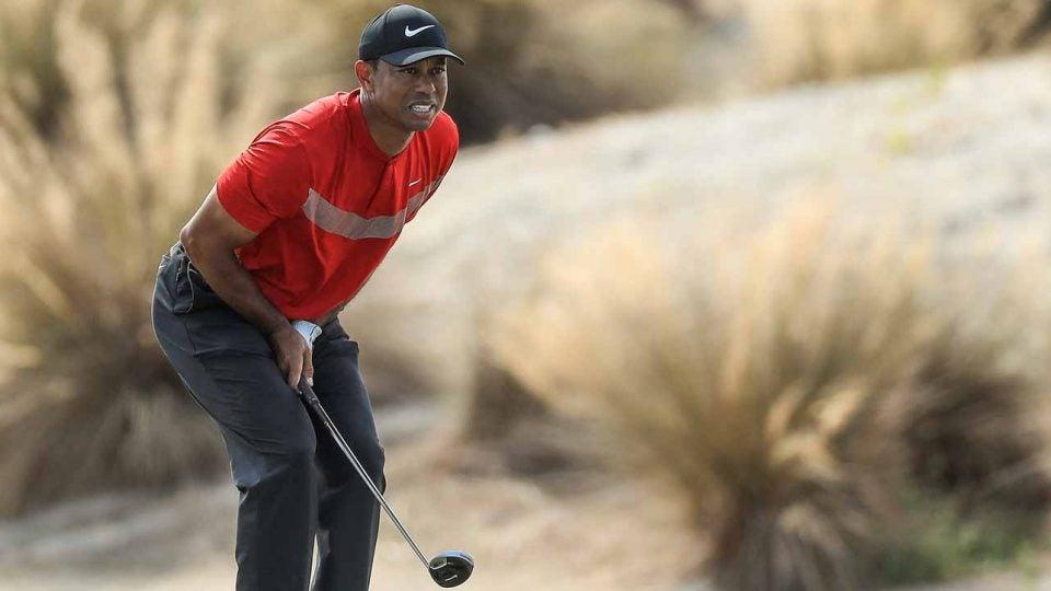 Tiger Woods' Sunday run fell short at the Hero World Challenge.