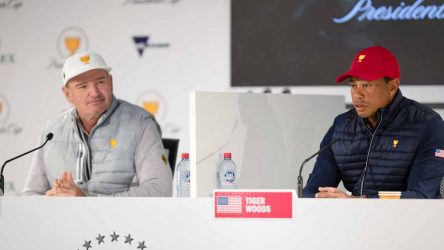 Tiger Woods and Ernie Els had a telling back-and-forth Saturday night at the Presidents Cup.