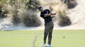 Tiger Woods had a rollercoaster first round at the Hero World Challenge.