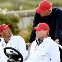Tiger Woods and Fred Couples served as vice captains under Steve Stricker in 2017.